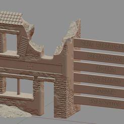 Descargar archivo 3D Edificio en ruinas, payo