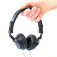 Free 3D printer file Armadillo Headphones, DeskGrown