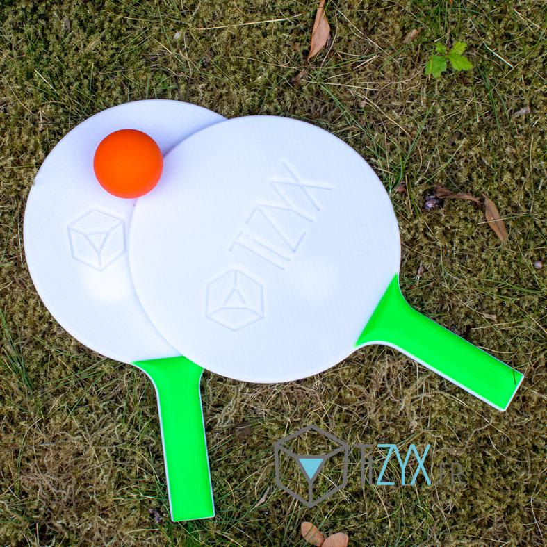 raquette1.png Download free STL file Beach racquet • 3D printer object, TiZYX-fr