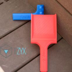 Imprimir en 3D gratis Pala, TiZYX-fr