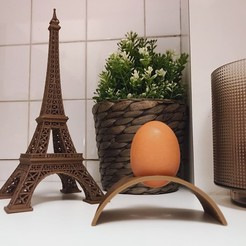 Download free 3D printer designs Egg cup / Egg cup, TiZYX-fr