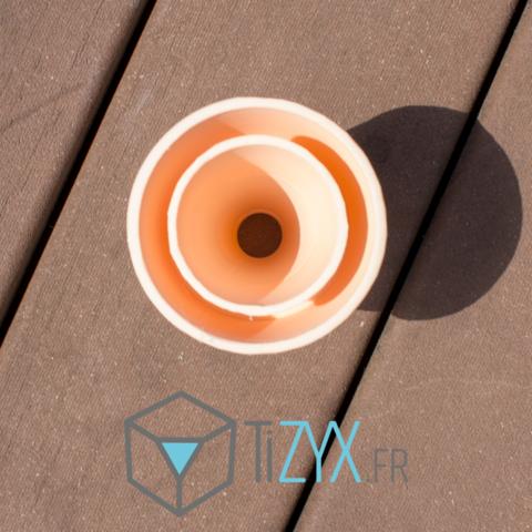 cornet2.png Download free STL file ice reclaimer • 3D print design, TiZYX-fr
