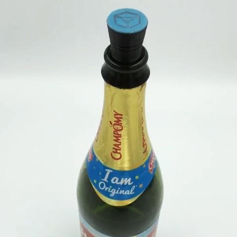 Télécharger modèle 3D gratuit Bouchon de bouteille multi-matériaux, TiZYX-fr