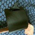 Télécharger plan imprimante 3D gatuit Etiquette bagage flexible, TiZYX-fr