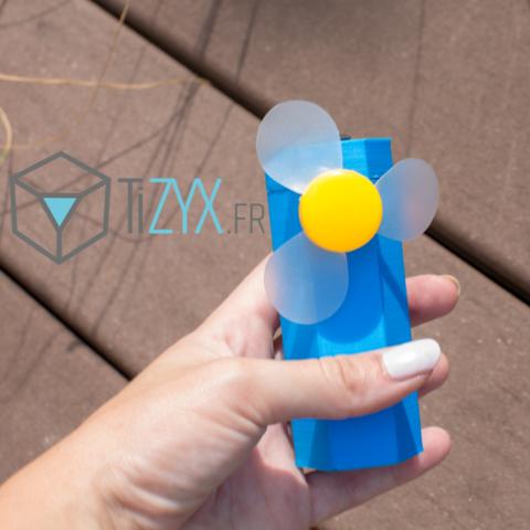 Descargar Modelos 3D para imprimir gratis abanico de bolsillo, TiZYX-fr