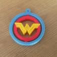 Download free STL file Wonder Woman Ginble KeyChain • 3D printer design, jeanjhvd