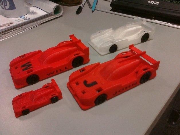 CIMG0119_preview_featured.jpg Télécharger fichier STL gratuit Prototype Le Mans Nissan Prototype personnalisé • Modèle imprimable en 3D, MakersBox