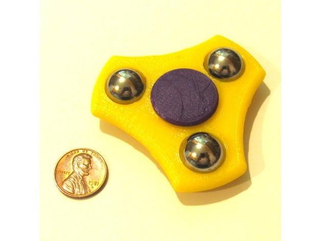 2527e58e07aaac88239c545599fd34b2_preview_featured.JPG Download free STL file Compact Fidget Spinner • 3D print design, MakersBox