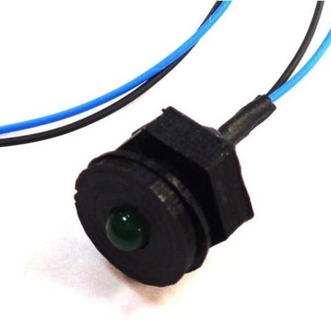 Impresiones 3D gratis LED de 5 mm de montaje en panel, MakersBox