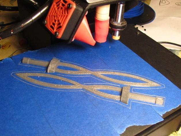 Sword_1_preview_featured.jpg Download free STL file Modified Fierce Deity Sword • 3D print design, MakersBox