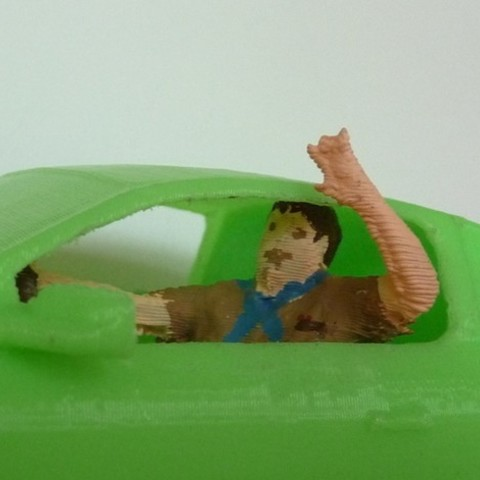 DenLeader_preview_featured.jpg Download free STL file Pinewood Derby Driver Collection • 3D printer template, MakersBox