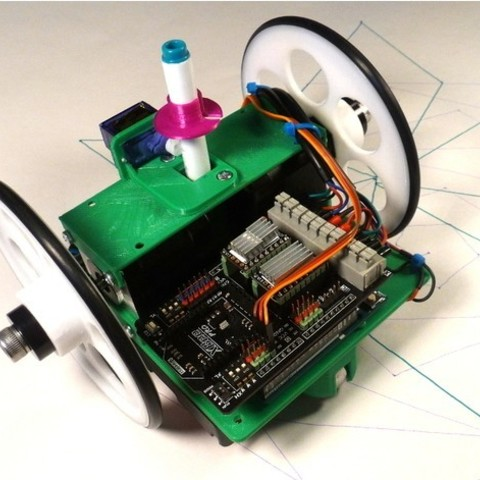 Free 3d print files DFRobot Turtle Robot, MakersBox