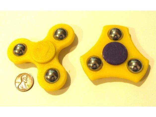 ddc5da755de068beb12cae9cb6b98578_preview_featured.JPG Download free STL file Compact Fidget Spinner • 3D print design, MakersBox