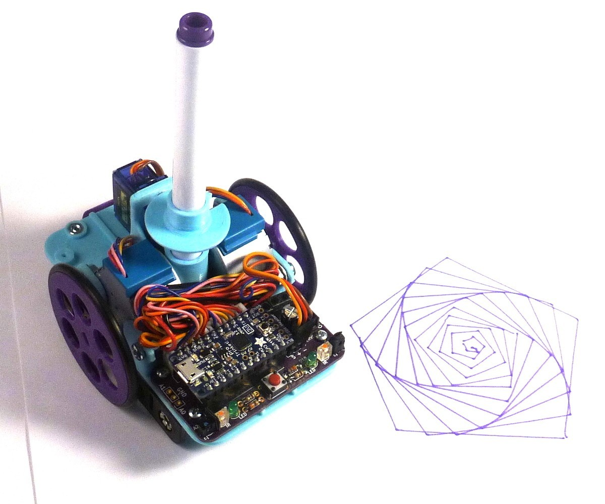 P1080459.JPG Download free STL file Open Source Turtle Robot • 3D printer model, MakersBox