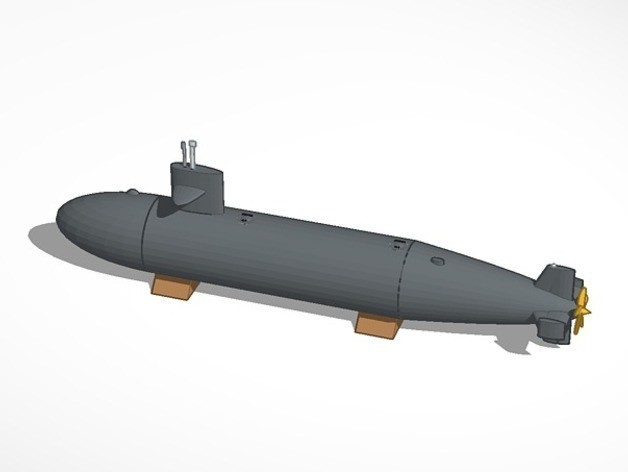 submarine_preview_featured.jpg Download free STL file Submarine • Template to 3D print, MakersBox
