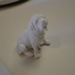 Download free 3D printing templates Puppy, MakersBox