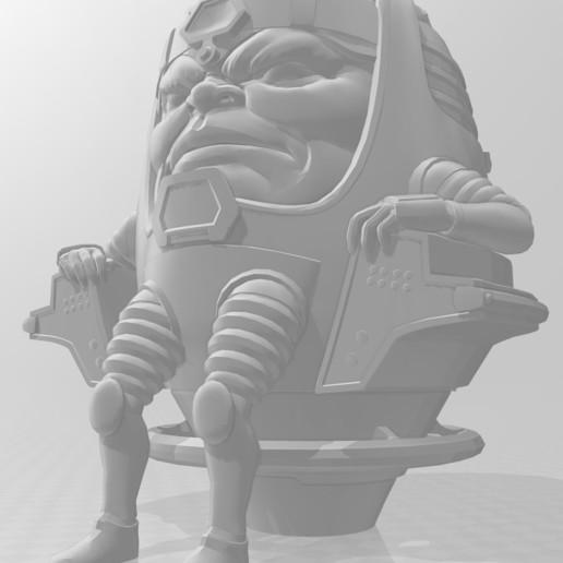MODOK_update.JPG Télécharger fichier STL gratuit MODOK • Plan imprimable en 3D, welbot