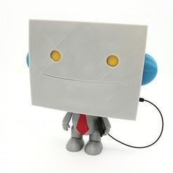 Fichier 3D gratuit robot de travail, welbot