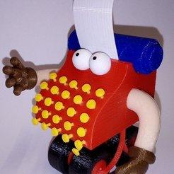 1-Dvr-rjTXgAABsQY.jpg Download STL file Typewriter Guy from Sesame St • 3D print design, welbot