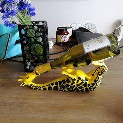 Descargar modelo 3D Vino Garaffe, welbot