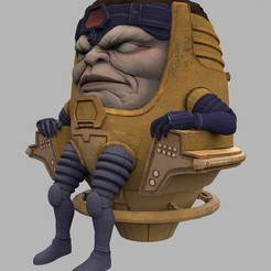 Download free 3D model MODOK, welbot