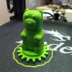 Free 3D printer files Harignome (Gummi Bear), welbot