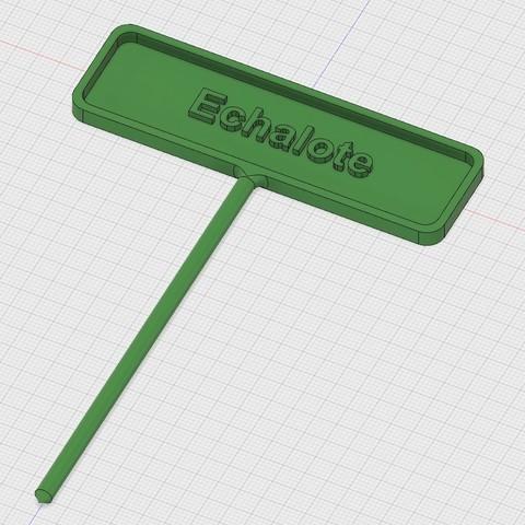 Free stl garden label, ericsud2