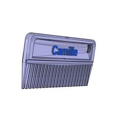 Download free STL Mane comb ( horses), ericsud2
