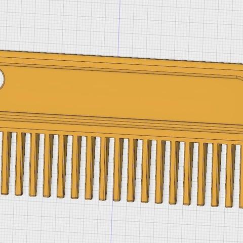 peigne a criniere pour chevaux.jpg Download free STL file Mane comb ( horses) • Object to 3D print, ericsud2