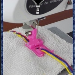 Download 3D printer model triple cord foot, mariafernandaestrada