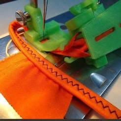 Download 3D printer designs presser foot for sewing machine, mariafernandaestrada
