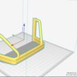 Rool bar V2.PNG Download STL file TOYOTA HARD BODY SHELL ROOL BAR  • 3D printer design, kiatkla