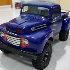 STL files FORD F10 TRUCK TRX4 324mm, kiatkla