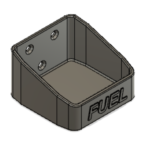 Jerry can V1-2.png Download STL file JERRY CAN FUEL CAN TRX4 SCX10 K5 RC4WD SCALE RC Support • 3D print object, kiatkla
