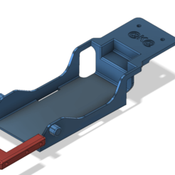 3D printing model TRX4 battery tray low CG TRX4 , kiatkla