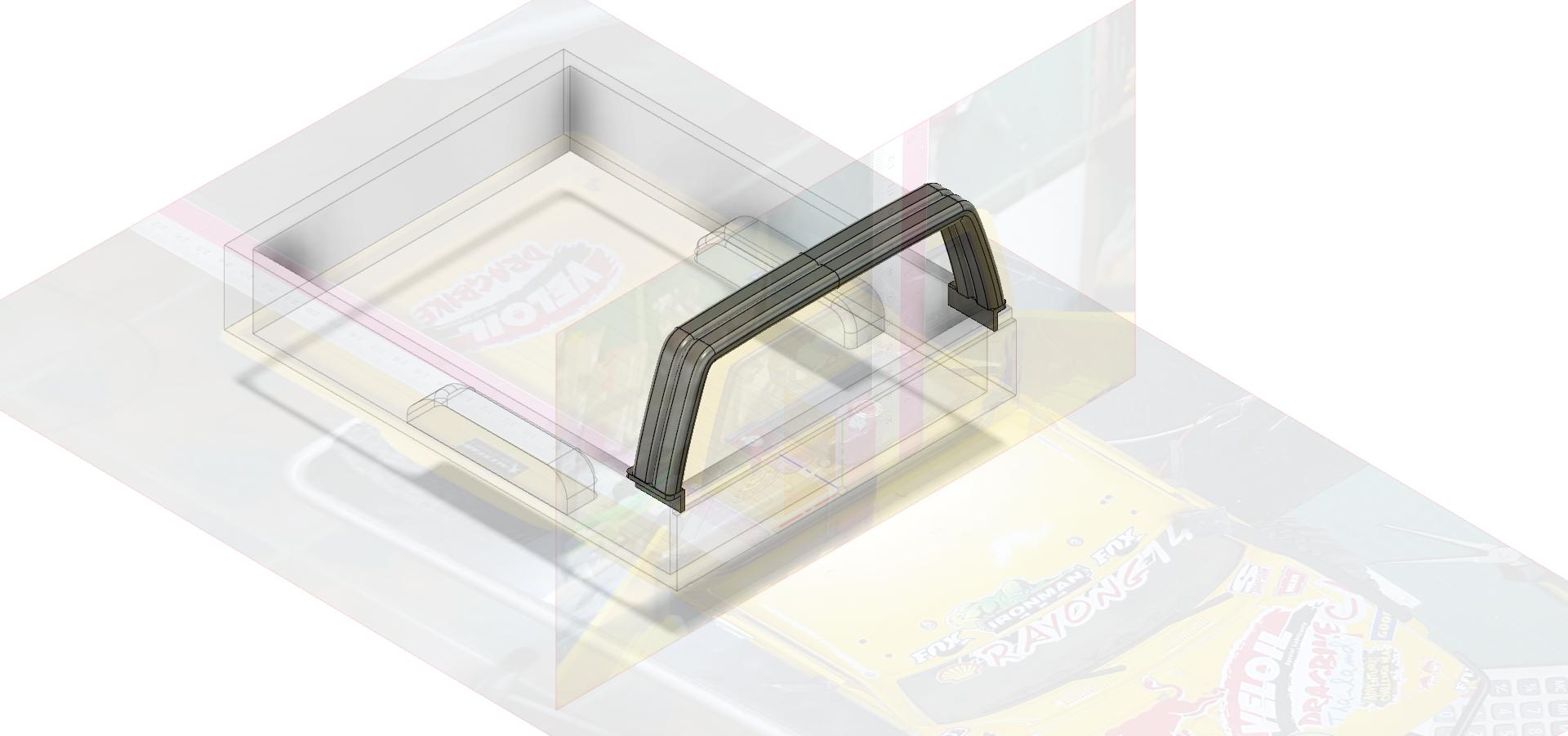 Rool bar V1-1 thin 2.png Télécharger fichier STL gratuit TOYOTA HARD ROOL BAR SCX10 RC4WD K5 TRX4 • Design pour imprimante 3D, kiatkla