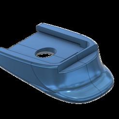 3D printing model HK German P2000 SK Magazine Flat Floor plate -Low profiles, kiatkla