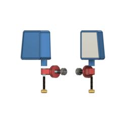 Télécharger objet 3D TRX4, SCX10, Vetera, 1/10 rétroviseur latéral rabattable, Jeep, rampant, axial, redcat, kiatkla