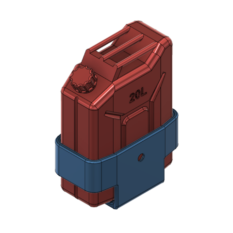 support-4.png Download STL file JERRY CAN FUEL CAN TRX4 SCX10 K5 RC4WD SCALE RC Support • 3D print object, kiatkla