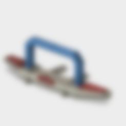 Download STL TRX4 Front Bumper Defender, kiatkla
