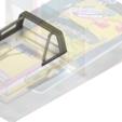 YOTA rool bar V2.png Download STL file TOYOTA HARD BODY SHELL ROOL BAR  • 3D printer design, kiatkla