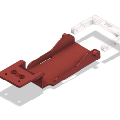 Download free 3D printing templates TRX4 lowCG battery tray not include back rack, kiatkla