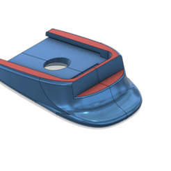 Télécharger plan imprimante 3D HK USP-compact Heckler & Koch USP Magazine Floorplate, kiatkla