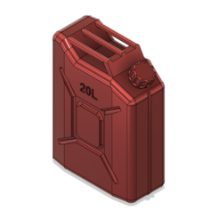 archivos 3d Jerry can Lata de combustible TRX4 SCX10 K5 RC4WD escala rc gratis, kiatkla