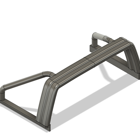 YOTA rool bar V2-1.png Download STL file TOYOTA HARD BODY SHELL ROOL BAR  • 3D printer design, kiatkla