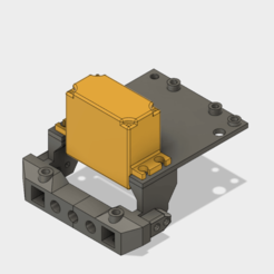 1.png Télécharger fichier STL TRX4 Servo forward add tray • Objet à imprimer en 3D, kiatkla