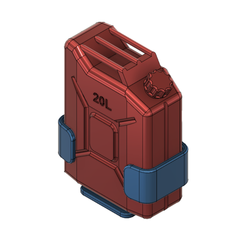 support-3.png Download free STL file Jerry can Fuel can TRX4 SCX10 K5 RC4WD scale rc • 3D printable object, kiatkla