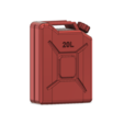 Jerry can 20 V1-2.png Download free STL file Jerry can Fuel can TRX4 SCX10 K5 RC4WD scale rc • 3D printable object, kiatkla