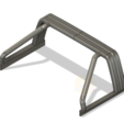3D print model TOYOTA HARD ROOL BAR SCX10 RC4WD K5 TRX4, kiatkla