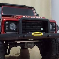TRX4 Front Bumper Defender STL file, kiatkla